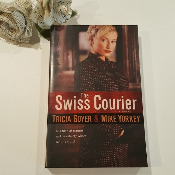 The Swiss Courier Suspense Mystery Historical Book